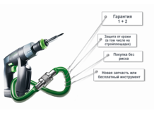 Гарантия FESTOOL SERVICE all-inclusive
